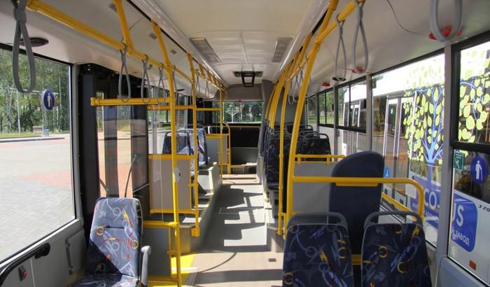 Салон маз 203L65, автобус маз 203L65
