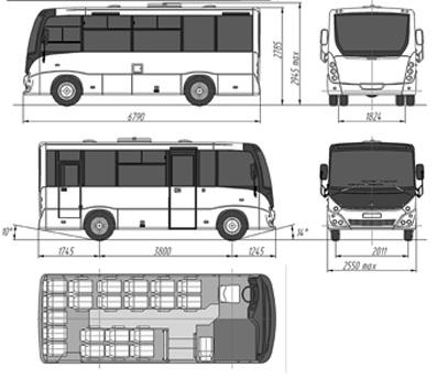маз 241, автобус маз 241